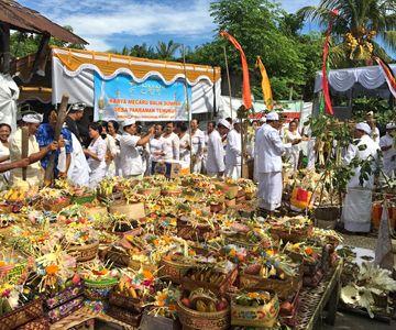 Geniet van de Balinese ceremonies