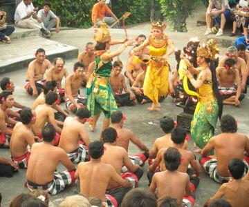 The Kecak Dance in Uluwatu is worth a visit