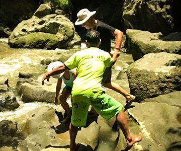 An adventurous journey through the hidden ravine Babu Guwnang