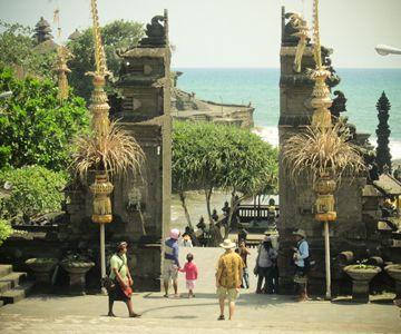 Visit the beautiful Tanah Lot temple